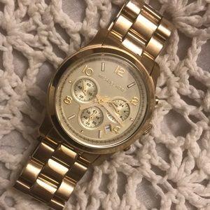 MICHAEL Michael Kors Gold Watch